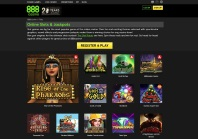 Play Slot Games at 888casino