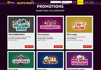Big Welcome Bonus At Slots Magic Casino